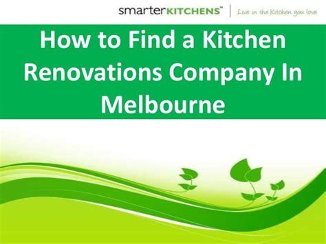 kitchen how to find the 5 useful tips on how to find the best kitchen renovations company in