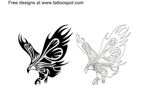 tribal eagle tattoo designs tribal tattoos and designs page 153