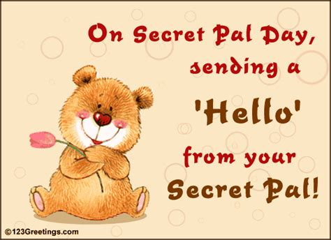 secret pal poems secret reveal card quotes quotesgram