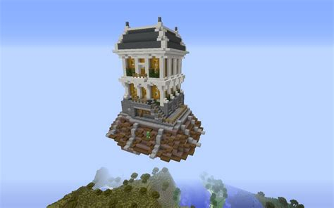 house in the sky bioshock infinite house city in the sky minecraft project