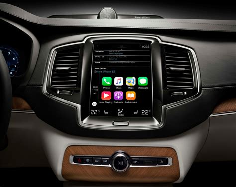 volvos apple carplay interface    game changer fortune