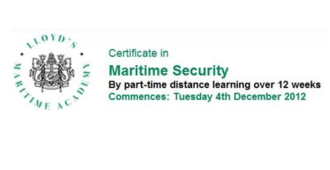 Lloyd S Maritime Academy Mba In Shipping And Logistics by Maritime Security Review Tag Archive Lloyd S Maritime