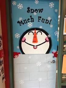 winter classroom door decorations winter classroom door