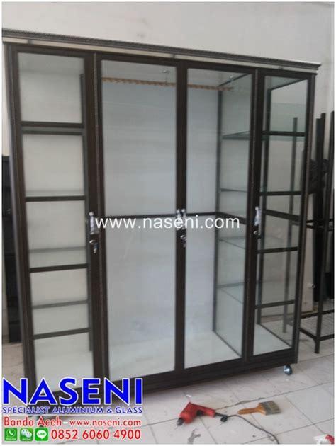 Lemari Baju Kaca Aluminium lemari baju aluminium