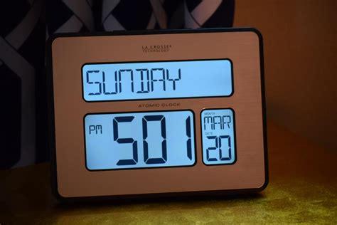 digital atomic desk clock atomic digital wall clock large display beautiful large
