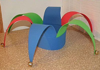 How To Make A Jester Hat Out Of Paper - how to make a jester hat out of craft foam