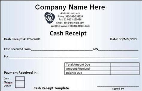 decimal receipt project template receipt templates in excel and wo