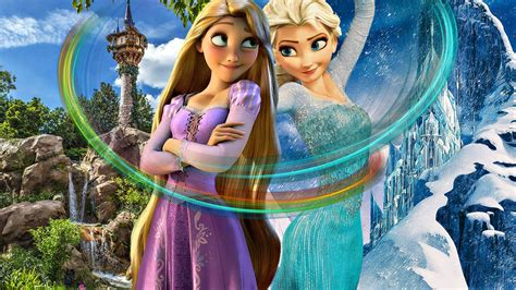 film elsa vs rapunzel muians images rapunzel and elsa hd wallpaper and