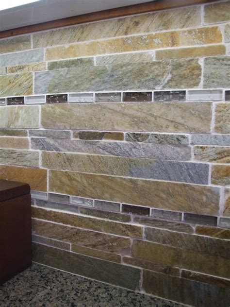 slate backsplash modern kitchen dallas by town