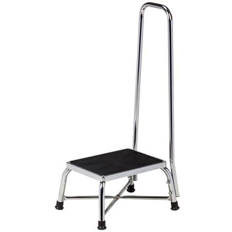 equipment step stool handrail chrome bariatric step stool with handrail bariatric