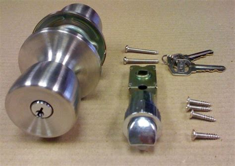 stainless steel entrance door lock set for mobile home