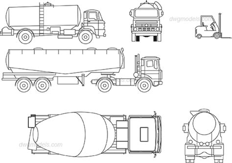 truck templates for autocad car templates for autocad truck turning radius cad