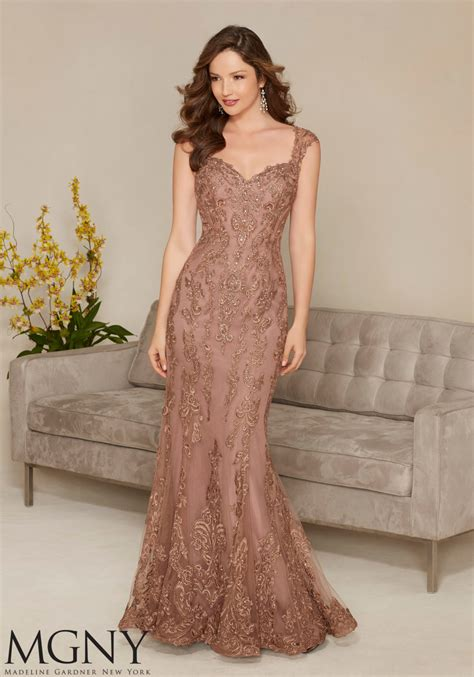 appliques for dresses embroidered appliqu 233 s evening dress style 71314 morilee