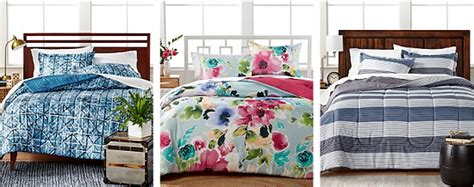 macy bed in a bag macy s 8pc comforter set as low as 36 97 reg 100