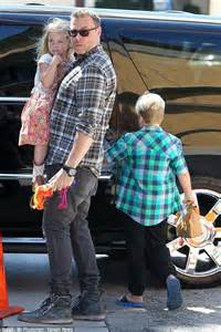 And Dean Out With Liam by Spelling And Dean Mcdermott Show At Studio City
