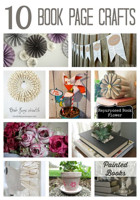 craft projects with books 10 clever book page crafts two purple couches