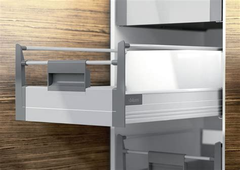 Grey Kitchen Cabinet Doors Blum Tandembox Plus Blumotion Inner Drawer To Suit 300mm