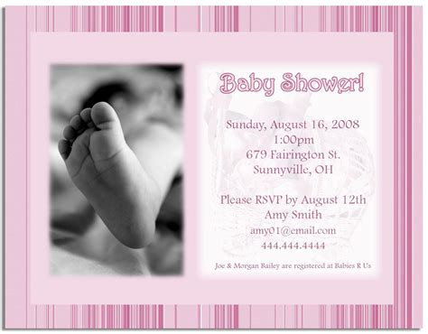Baby Shower Announcements Templates 301 moved permanently