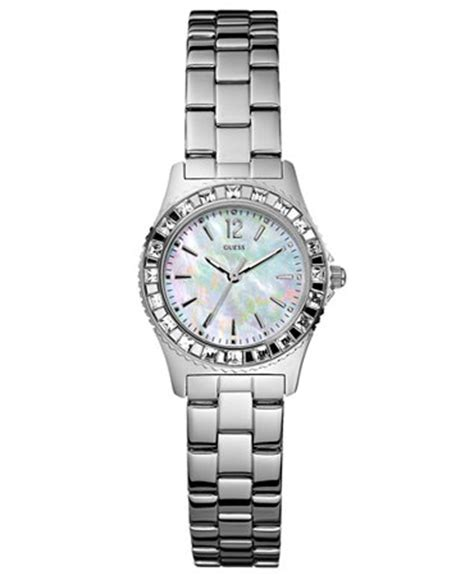 guess s stainless steel bracelet 28mm g86149l