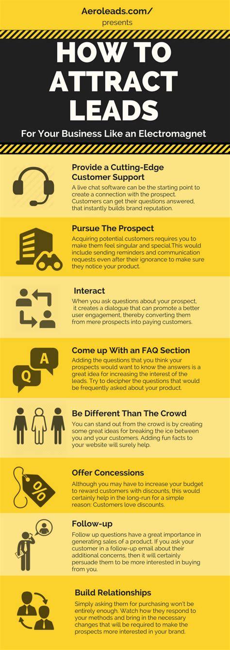 13 Top Tips On How To Attract by Aeroleads Infographics Driven By Data