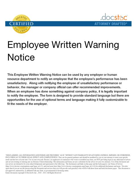 best photos of employee attendance letter template employee