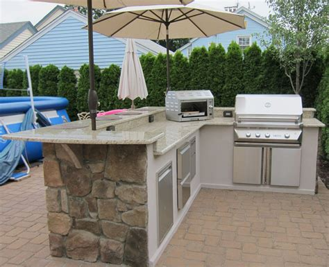 layout of outdoor kitchen l shaped outdoor kitchen layout