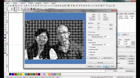 3d Laser Cutter Software by Prepare Photos For Laser Engraving With Laserwork Software