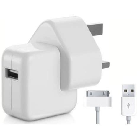 charger for ipad2 genuine apple 1 2 3 mains charger with data cable