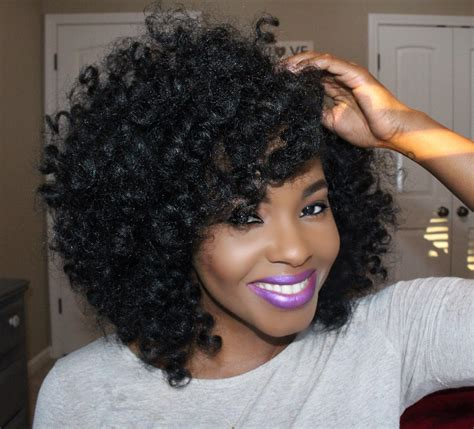 crochet braids on short natural hair crochet braids hairstyles for lovely curly look