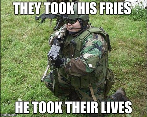 Soldier Meme - fat soldier imgflip