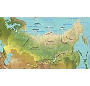 Mapa F&237sico De Rusia