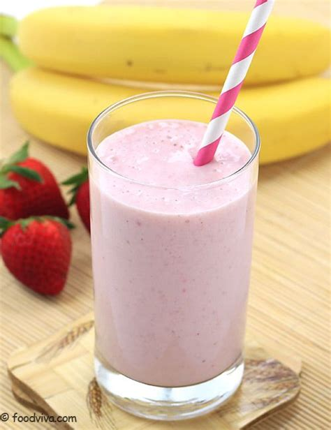 Milk Mi Banana Strawberry honey milkshake recipes and strawberry banana on