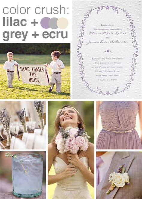 color crush lavender and grey purple wedding wedding unique wedding colors wedding colors