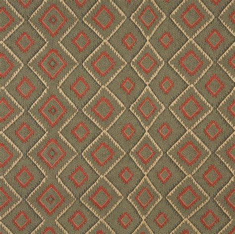 j747 southwest style upholstery fabric green