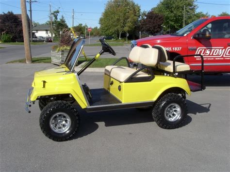 Jeep Golf Cart 13 Best Images About Cool Golf Carts On Rear