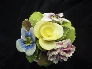 vintage estate coalport fine bone china floral figurine