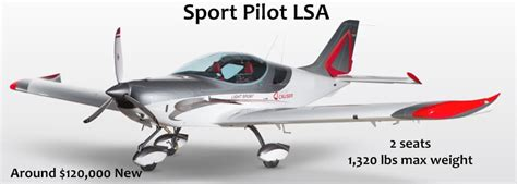 light sport aircraft license what s the difference between the sport pilot license and