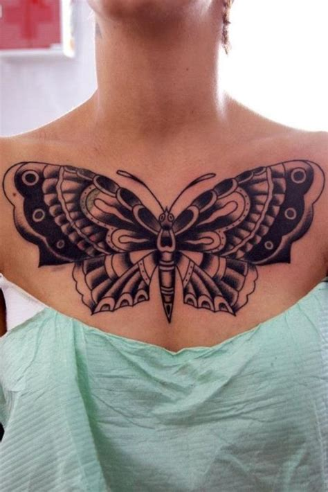 butterfly chest tattoo 69 most attractive butterfly tattoos for chest