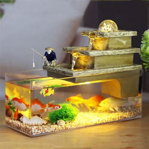 water fountain feng shui craft fish tank aromatherapy