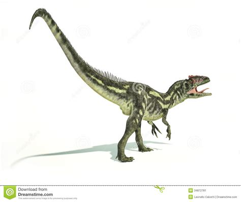 Poster Seventeen Dino 2 Unofficial Ready Stock Request Poster Chat allosaurus dinosaurus photorealistic representation dynamic po stock image image 34872781