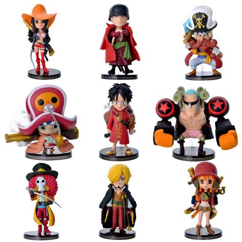 1 Set Sanji Yonji Barto Figure aliexpress buy 8cm one luffy zero nami usopp tony chopper sanji nico franky brook