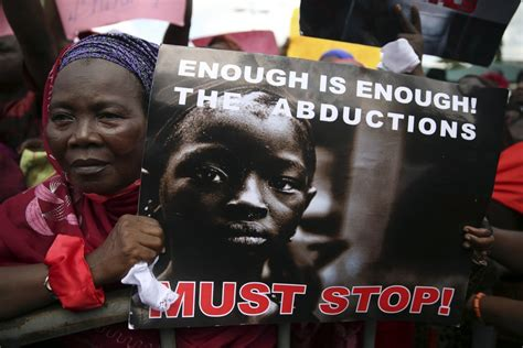 nigerian schoolgirls kidnapped by boko haram protests but nigerian girls mass abduction three escaped school girls