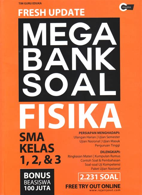 fresh update mega bank soal fisika sma kelas 1 2 3