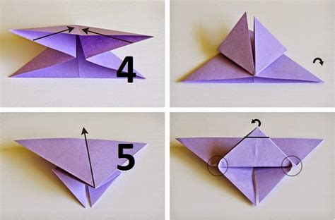 Butterfly Origami Steps - how to make origami butterfly origami paper