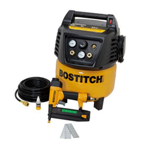 shop bostitch 0 8 hp 6 gallon 150 psi electric air compressor at lowes