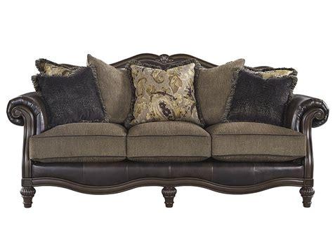 vintage sofa atlantic bedding and furniture winnsboro durablend vintage sofa