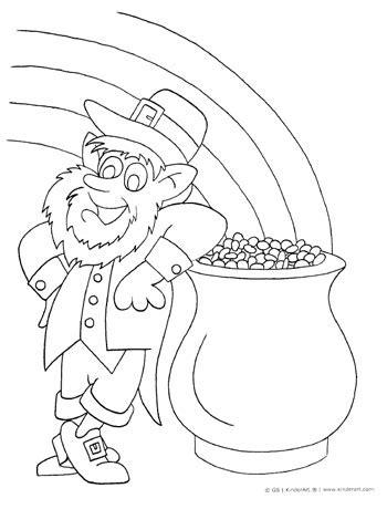 leprechaun coloring page pdf leprechaun coloring page kinderart