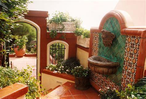 tuscan style backyard landscaping mediterranean