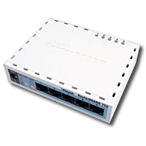 Router Mikrotik Rb750gl