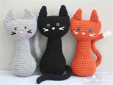 crochet cat crochet cat repeat crafter me
